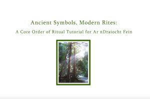 Ancient Symbols Modern Rites Cover Image